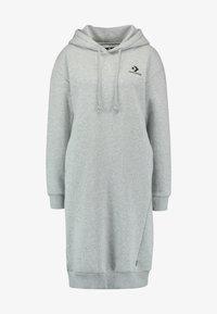 Converse - STAR CHEVRON DRESS - Day dress - vintage grey heather - 3