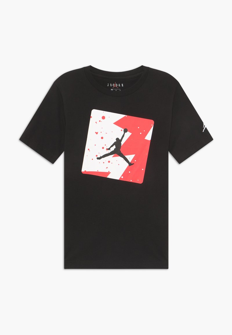 Jordan - POOLSIDE CREW - Print T-shirt - black