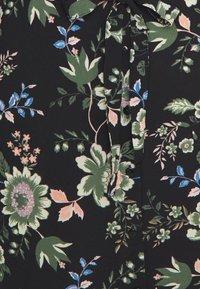 Vero Moda - VMSAGA - Košilové šaty - black/cassandra - 5