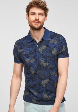Poloshirt - blue aop