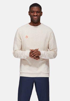 Sweatshirt - white melange cup