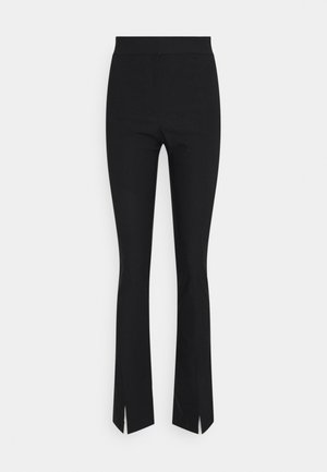 ELEA TROUSERS - Trousers - black