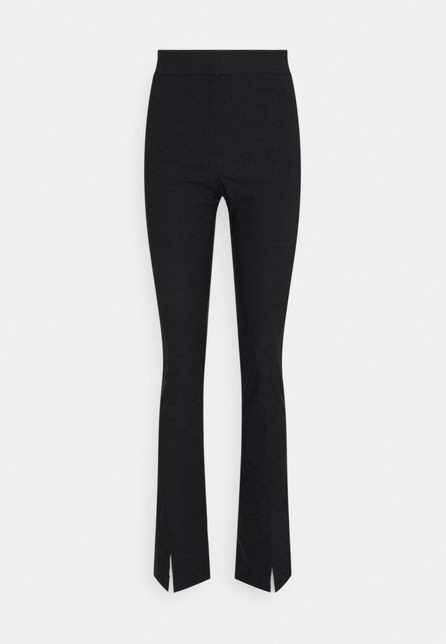 ELEA TROUSERS - Broek - black