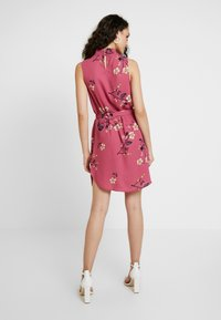 Vero Moda - VMCALLIE SMOCK DRESS - Day dress - rose wine - 3