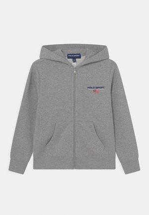 Zip-up sweatshirt - andover heather