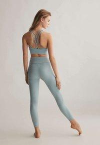 OYSHO - COMFORTLUX  - Tights - turquoise - 2