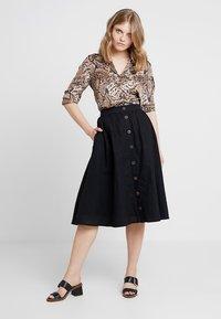 Esprit - A-line skirt - black - 1