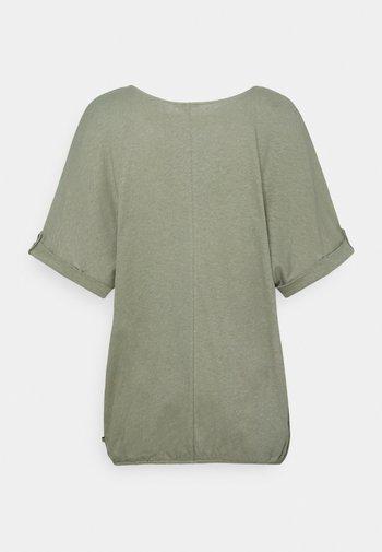 TEE - Basic T-shirt - light khaki