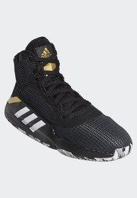 adidas Performance - PRO BOUNCE 2019 SHOES - Basketball shoes - black - 3