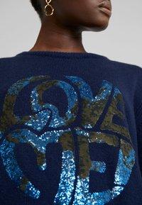 Alberta Ferretti - LONG LOVE ME - Jersey de punto - blue - 6