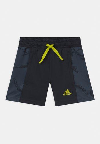UNISEX - Short de sport - legend ink/acid yellow