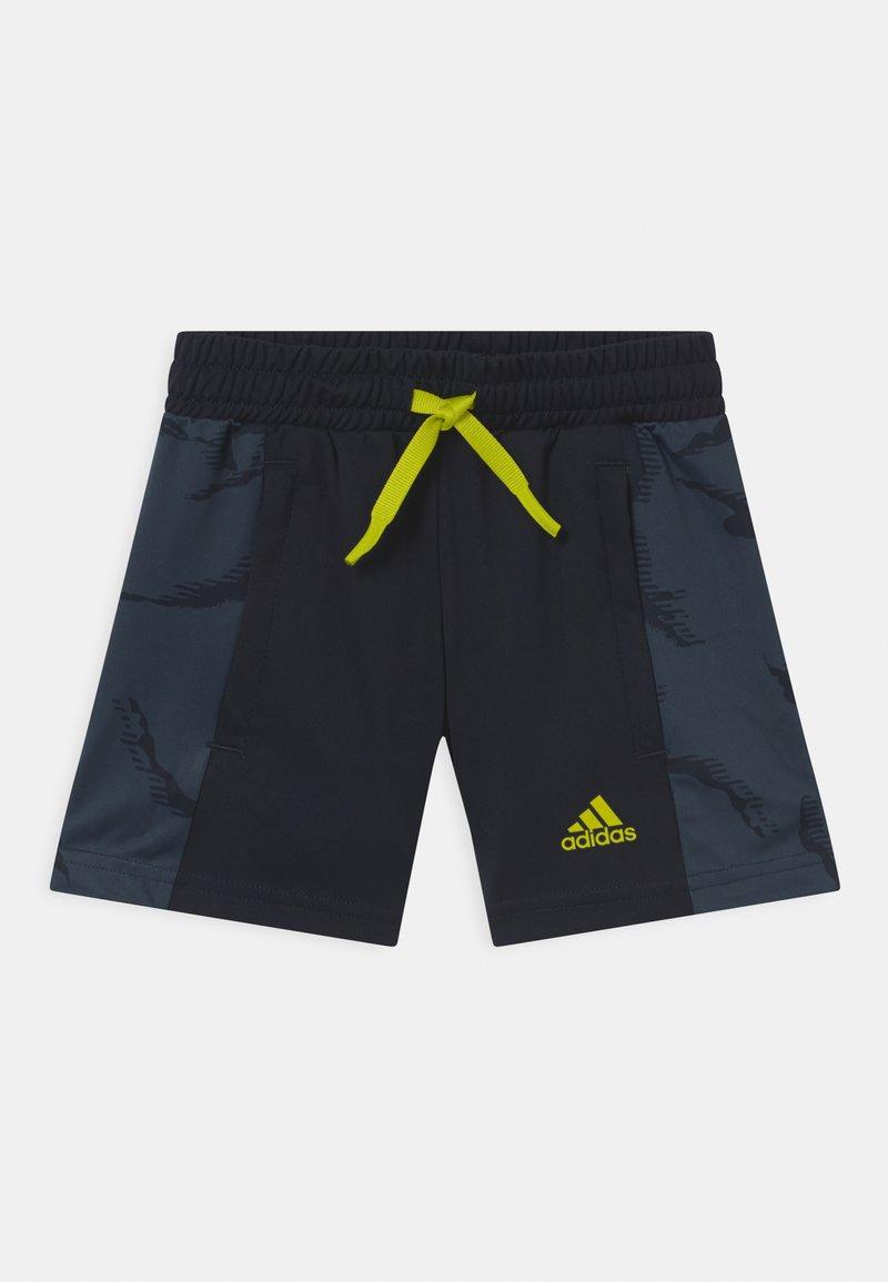 adidas Performance - UNISEX - Pantaloncini sportivi - legend ink/acid yellow