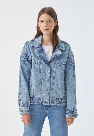 Denim jacket - light-blue denim