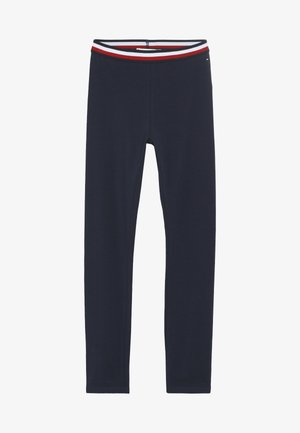 SOLID - Leggings - Trousers - blue