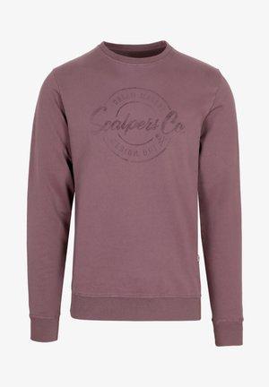 STAMP - Sweatshirt - burgundy