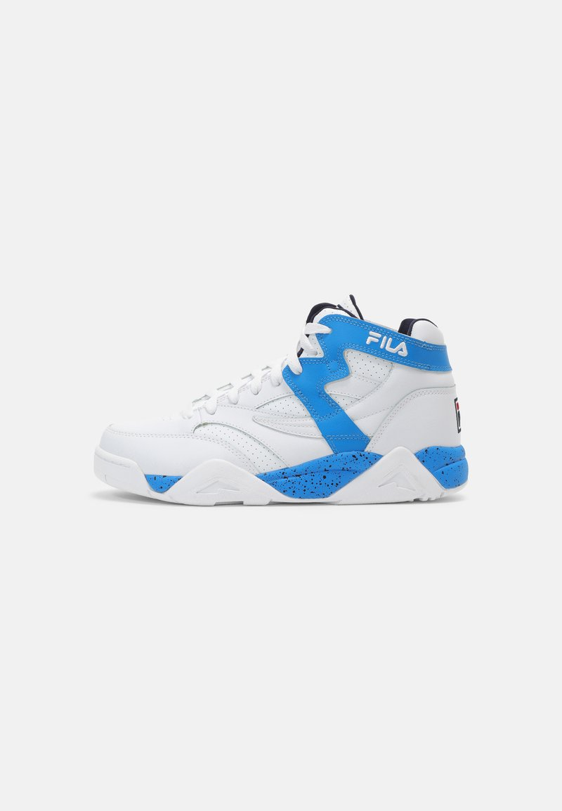 Fila - M-SQUAD UNISEX - Sneakers high - white/indigo bunting