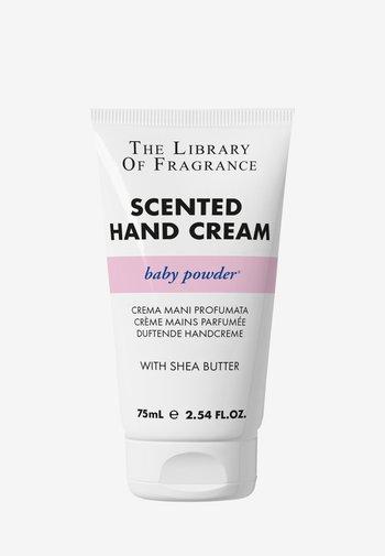 HAND CREAM - Hand cream - baby powder