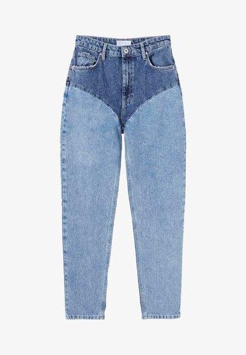 MIT KONTRASTEN - Slim fit jeans - blue denim