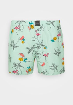 SINGLE PATTERN - Boksershorts - mint