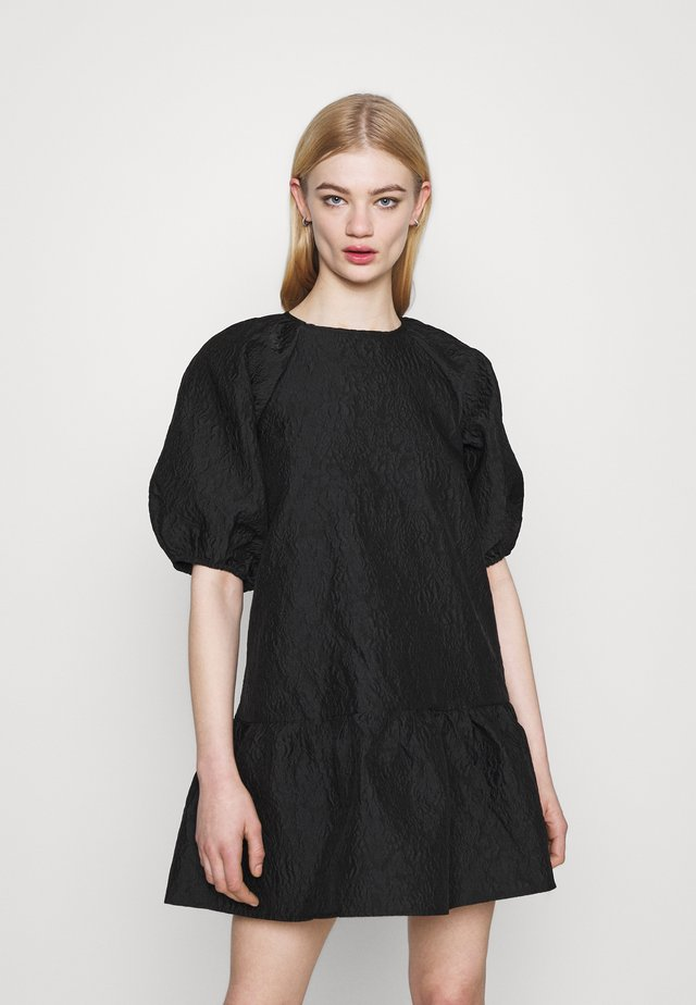 CROCUS DRESS - Sukienka koktajlowa - black