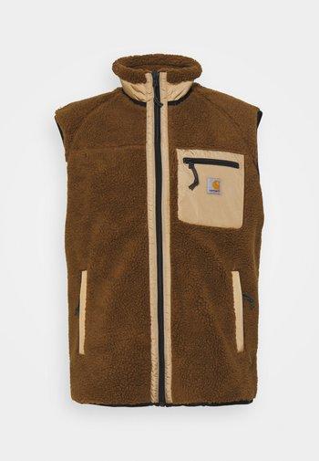 PRENTIS VEST LINER - Waistcoat - tawny