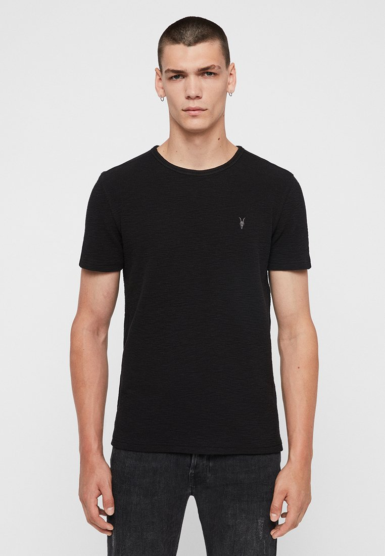 AllSaints - MUSE - Basic T-shirt - black