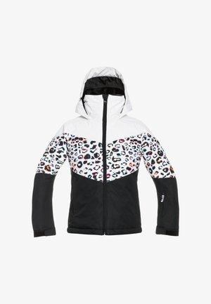 WHIST - Winter jacket - bright white leops girl