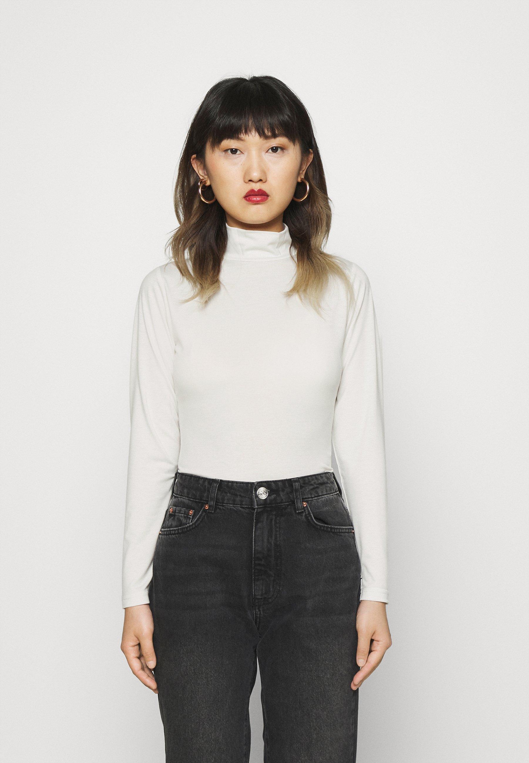 Women HIGH NECK LONGSLEEVE - Long sleeved top