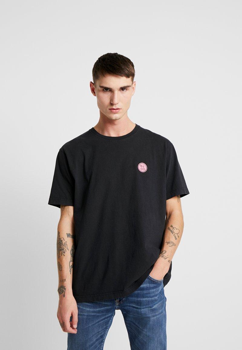 Nudie Jeans - UNO - T-paita - black