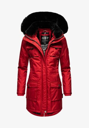 Winter coat - light red