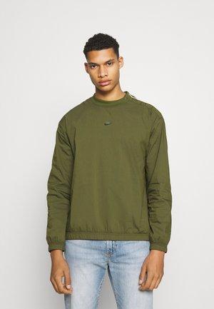 Sweatshirt - rough green/sail/ice silver