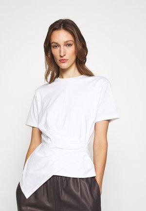 DRAPE APEX TEE - Print T-shirt - white