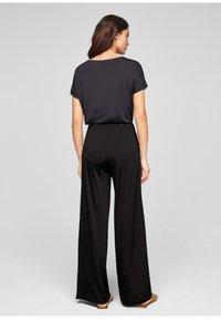 s.Oliver BLACK LABEL - Trousers - true black - 2