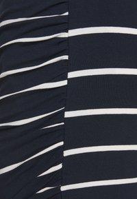 LTB - WORAZE - Spódnica ołówkowa  - navy white - 2