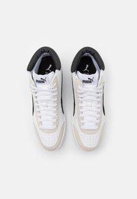Puma - COURT LEGEND COLLAR UNISEX - Sneakers alte - white/black - 3
