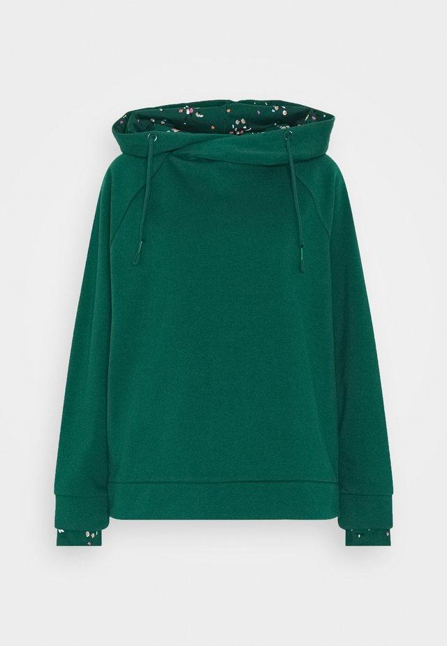 Sweat à capuche - dark teal green