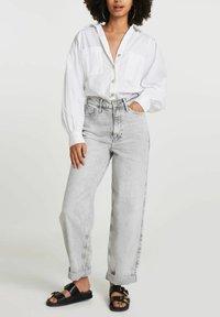 River Island - Straight leg jeans - grey - 1