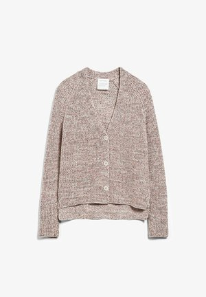 Cardigan - light caramel melange