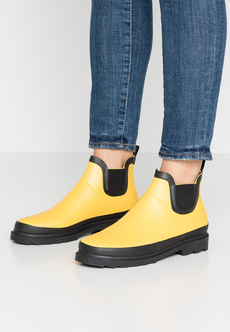 Sanita - FELICIA WELLY - Regenlaarzen - yellow