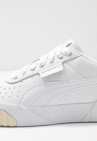 Puma - CALI - Baskets basses - white/whisper white - 2