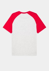 Converse - CHUCK PATCH RAGLAN TEE - Print T-shirt - birch heather - 1