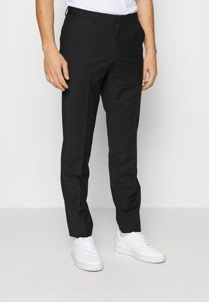 SIMMONS - Suit trousers - black