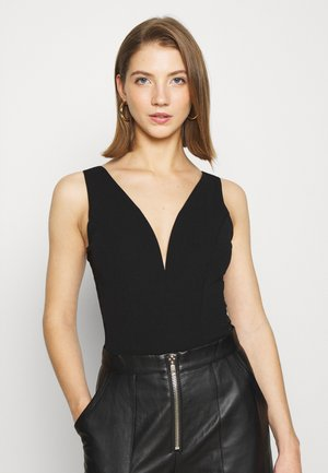 SHELBIE SIDE BODY SUIT - Top - black