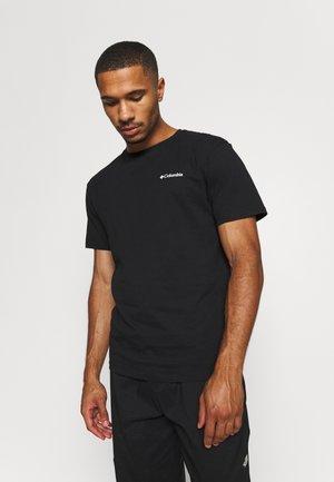 BLAZING TRAIL GRAPHIC TEE - T-shirts print - black
