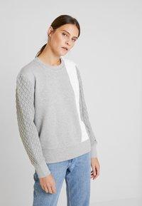Tommy Hilfiger - OLLIE - Sweatshirt - grey - 0