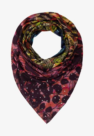 MIT PAILLETTEN - Foulard - multicolor