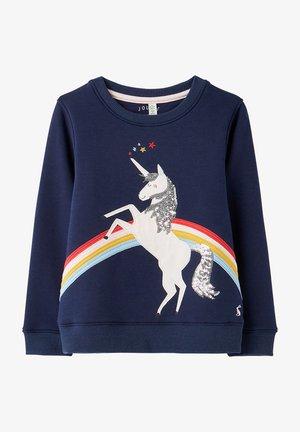 ORIGINELLES MACKENZIE - Sweatshirt - blaues einhorn