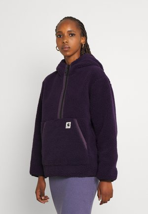 HOODED LOON LINER - Summer jacket - dark iris