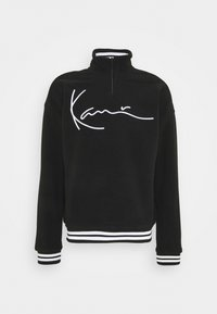 Karl Kani - SIGNATURE POLARFLEECE TROYER - Sweatshirt - black/white - 4