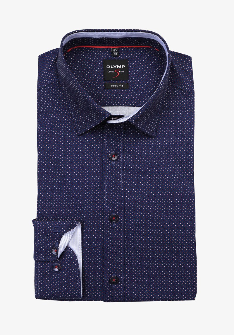 OLYMP - LEVEL FIVE  - Shirt - dunkelblau